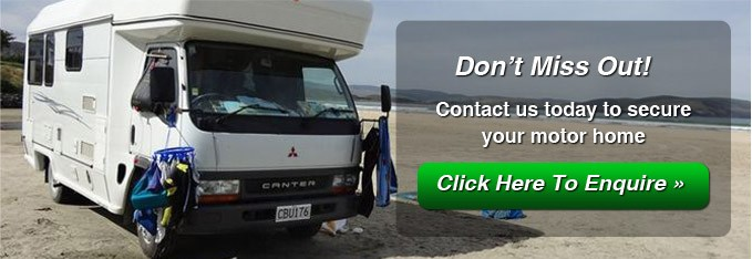 Motor Home Rental from Palmerston North, Manawatu